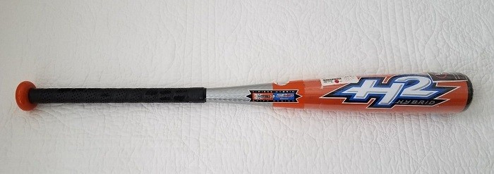 Hybrid softball bat.